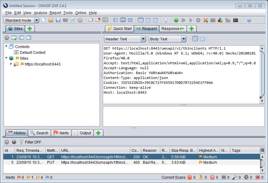 Debugging Requests - IGEL Management Interface V1