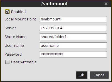 Windows Drive - SMB - IGEL Linux v5