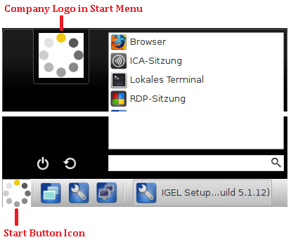 Assigning your own Company Logos - IGEL Linux v5